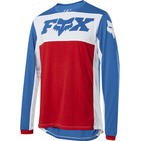 Fox Indicator Wide Open Bike Jersey Longsleeve Men red/blue